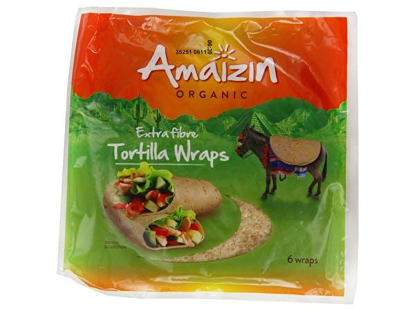 Amaizin  Tortilla Wraps - Extra Fibre