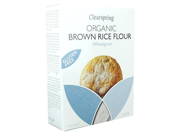 Clearspring  Organic & Gluten Free Brown Rice Flour