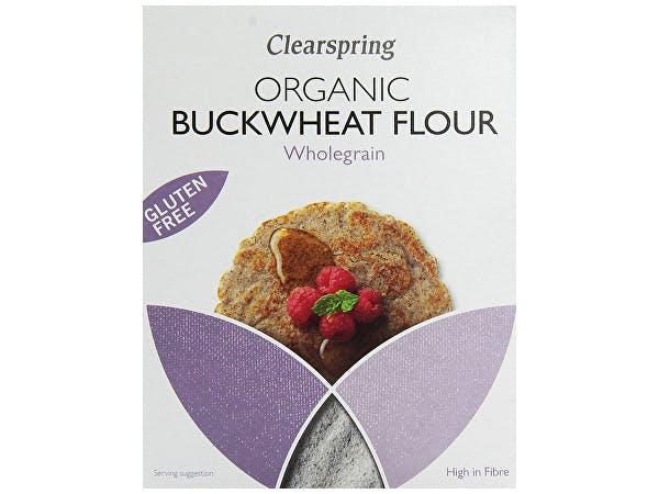 Clearspring  Organic & Gluten Free Whole Buckwheat Flour