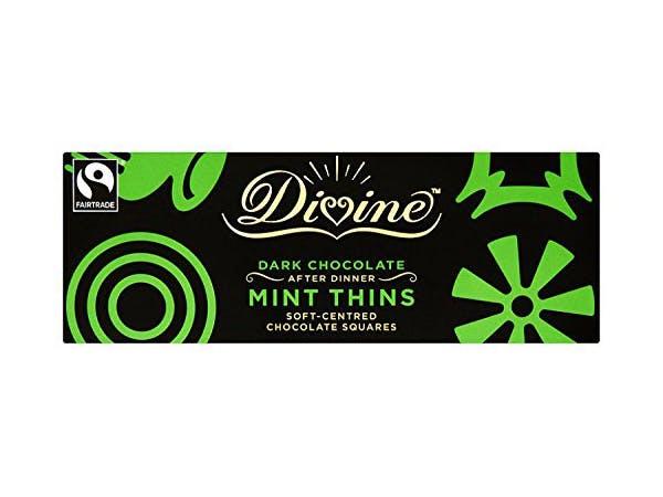 Divine  Dark Chocolate After Dinner Mint Thins