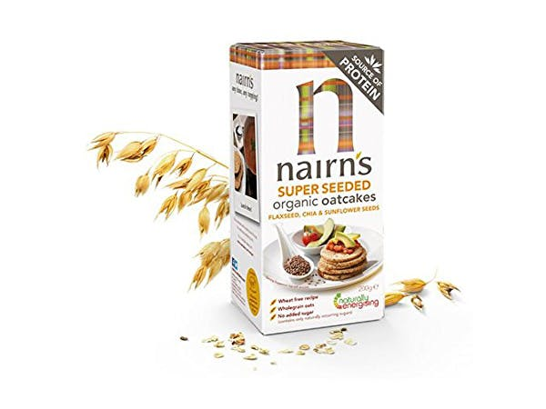 Nairns  Super Seeded Oatcake - Organic