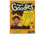 Goodies  Date & Banana Chunky Fruit Bars
