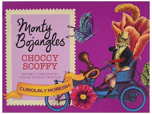 Monty Bojangles  Choccy Scoffy Curious Truffles