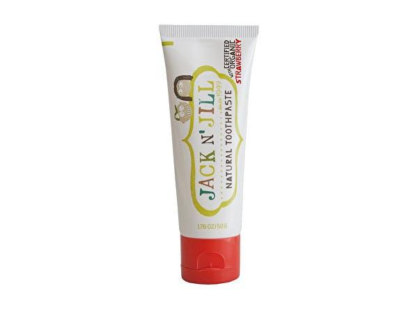 Jack & Jill  Natural Calendula Strawberry Toothpaste