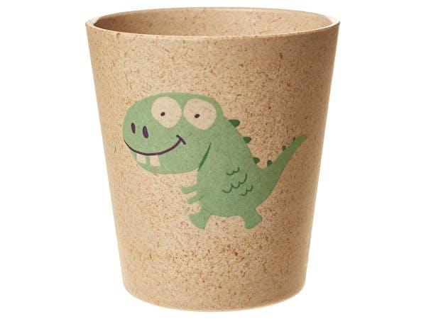 Jack & Jill  Bio Rinse Storage Cup - Dino
