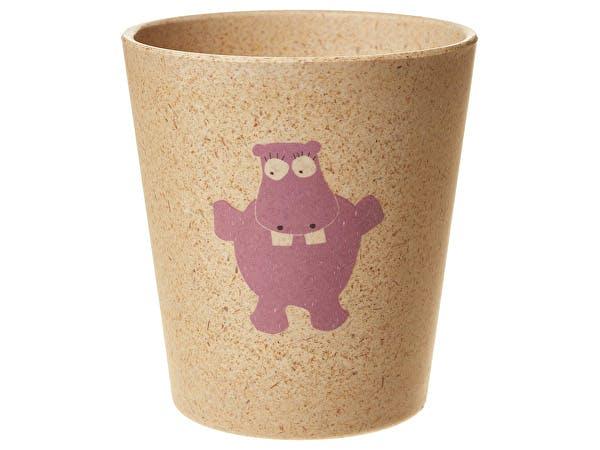 Jack & Jill  Bio Rinse Storage Cup - Hippo