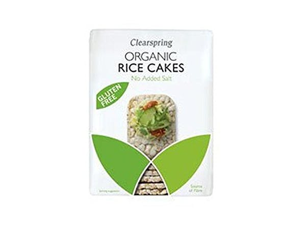 Clearspring  Wholegrain Rice Cakes No Added Salt - Organic