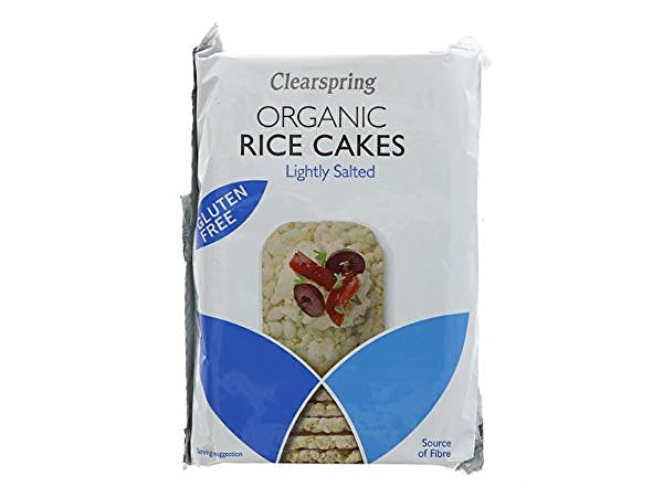 Clearspring  Wholegrain Rice Cakes - Organic