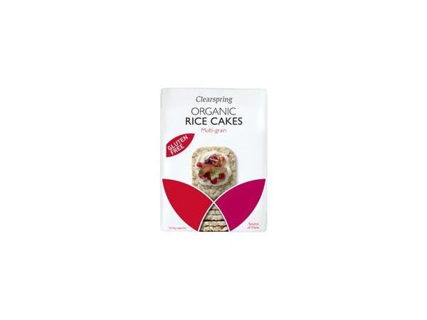 Clearspring  Multigrain Rice Cakes - Organic