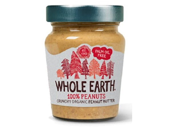 Whole Earth  Peanut Butter - Crunchy 100% Nuts