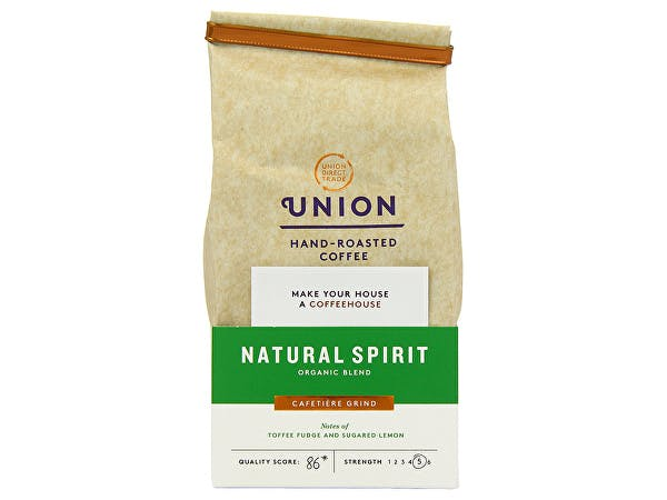 Union Coffee  Natural Spirit Organic Blend Ground