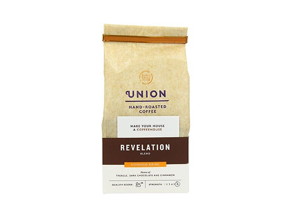 Union Coffee  Revelation Pre Ground Espresso Grind