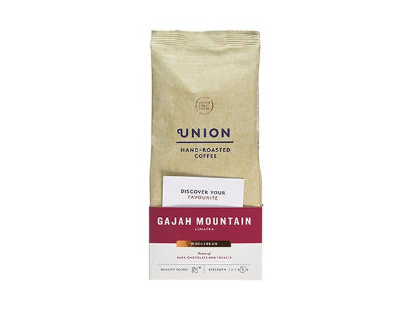 Union Coffee  Gajah Mountain Sumatra Whole Bean