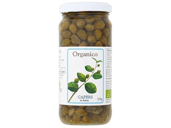 Capers In Brine - Organic