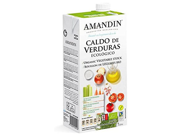 Amandin  Organic Vegetable Stock