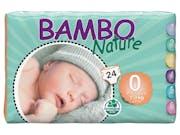 Bambo Nature  Nappies - Premature Size 0