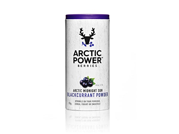 Arctic Power  100% Pure Blackcurrant Powder