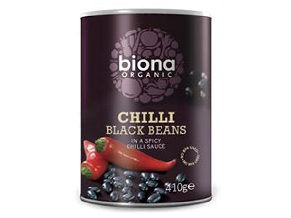 Biona  Black Bean Organic Chilli