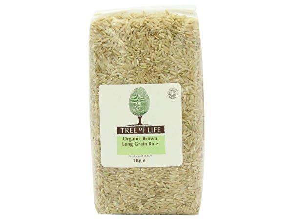 Tree Of Life  Organic Rice - Brown Long Grain