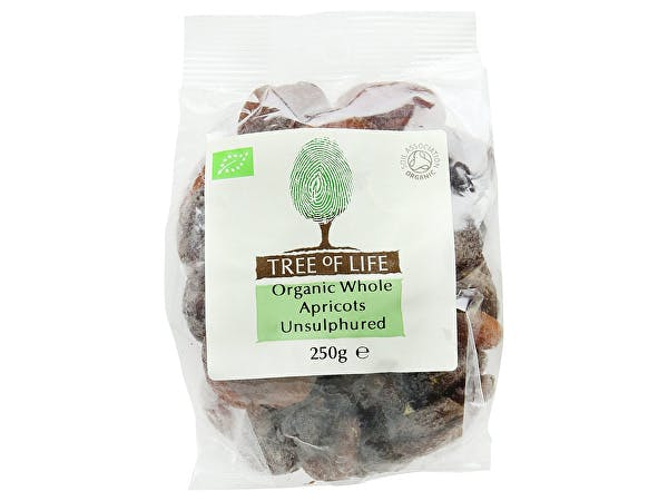 Tree Of Life  Organic Unsulphered Apricots
