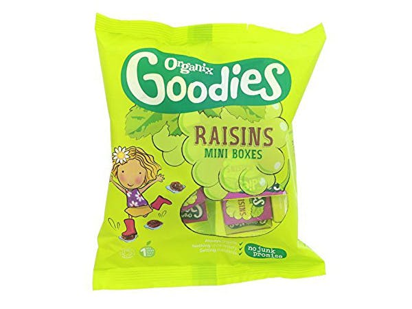 Goodies  Mini Raisin Boxes