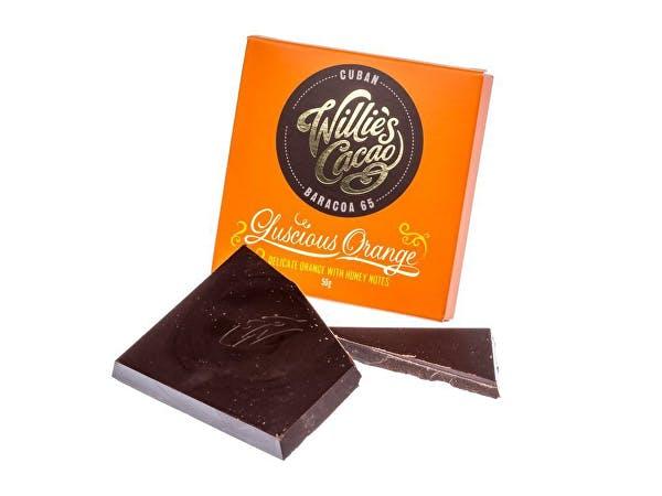 Willies  Luscious Orange Dark Chocolate & Orange