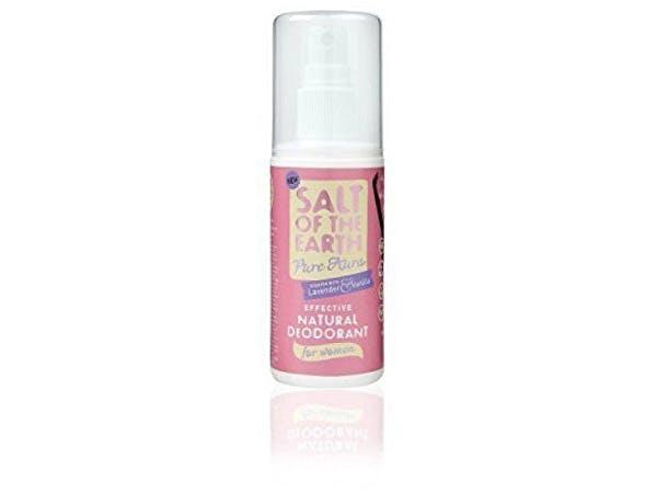 Salt Of T/Earth  Pure Aura Fragranced Deodorant Spray