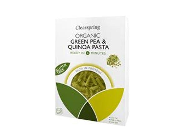 Clearspring  Organic Green Pea & Quinoa Fusilli Pasta