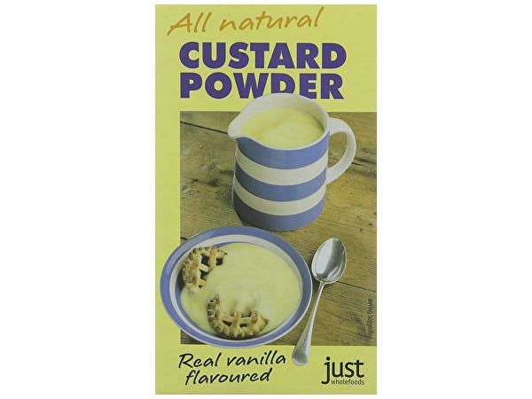 Just Wholefoods  Custard Powder - All Natural