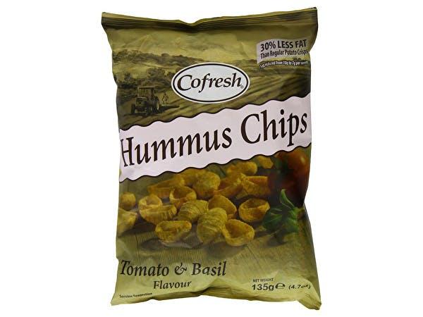 Eat Real  Hummus Tomato & Basil Chips