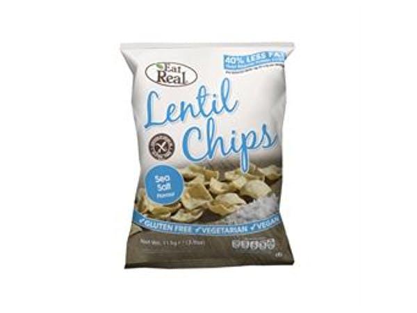Eat Real  Lentil Sea Salt Chips