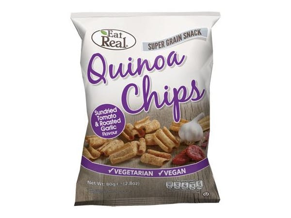 Eat Real  Quinoa Tomato & Garlic Chips