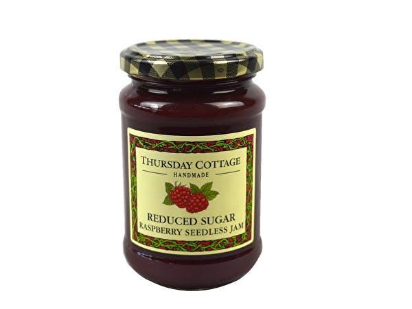 Thursday Cottage  Reduced Sugar Raspberry Seedless Jam