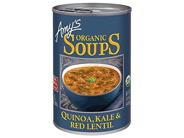 Organic Quinoa Kale & Red Lentil Soup