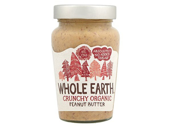 Whole Earth  Peanut Butter - Organic Crunchy