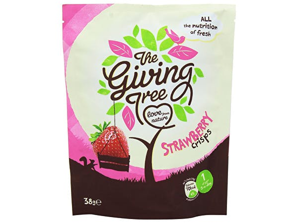 Giving Tree  Freeze Dried Strawberry Crisps