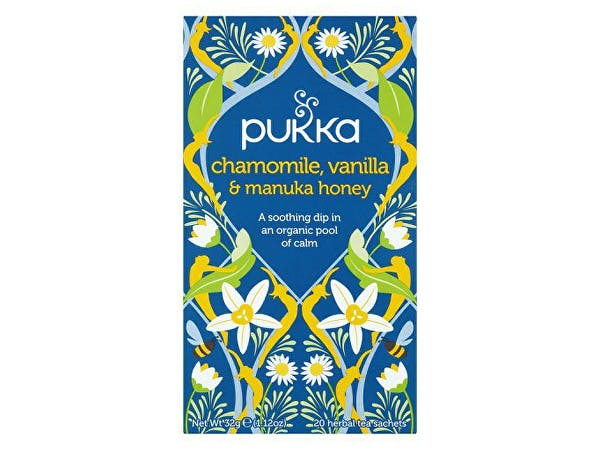 Pukka  Chamomile Vanilla & Manuka Honey Tea