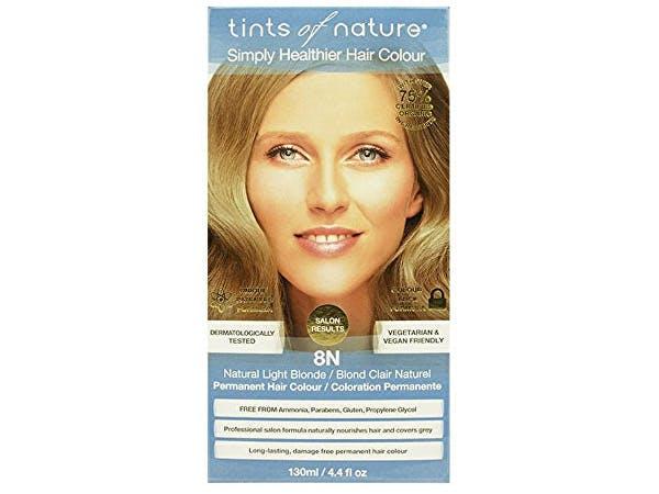 Tints Of Nature  8N Natural Light Blonde