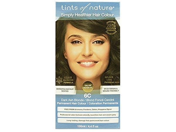 Tints Of Nature  6C Dark Ash Blonde