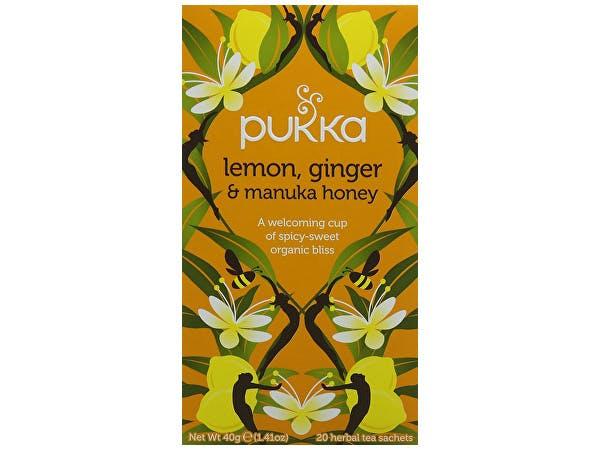 Pukka  Lemon Ginger & Manuka Honey Tea