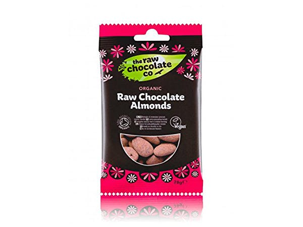 Raw Choc Co  Raw Chocolate Almonds