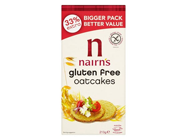 Nairns  Gluten Free Oatcakes