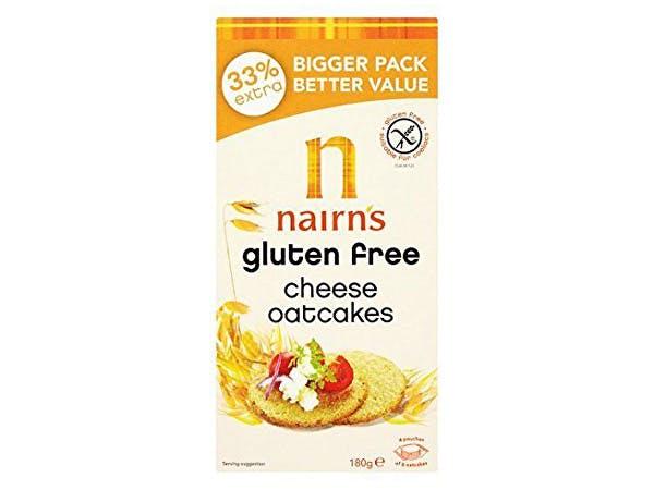 Nairns  Gluten Free Cheese Oatcakes
