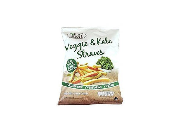 Eat Real  Veggie & Kale Straws