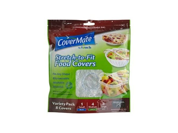 Covermate  Stretch To Fit Reusable Food Covers