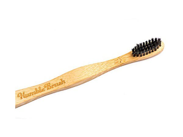 Humble Brush  Toothbrush - Adult Soft Black