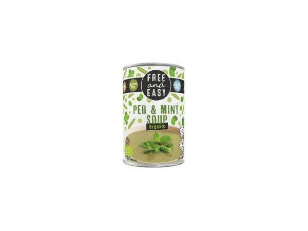 Free & Easy  Pea & Mint Soup