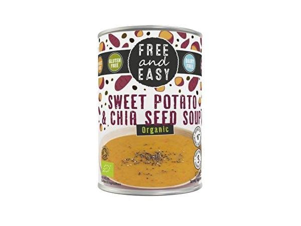Sweet Potato & Chia Soup