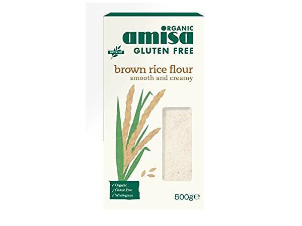 Amisa  Gluten Free & Organic Fine Brown Rice Flour