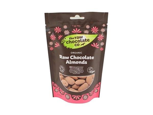 Raw Chocolate Almonds